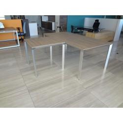 biurko z dostawką